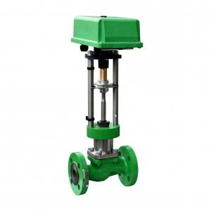 2-х ходовые регулирующие клапаны с электро- и пневмоприводами чугунные АСТА Р11
