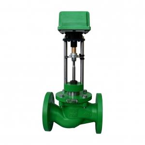 2-х ходовые регулирующие клапаны с электро- и пневмоприводами из углеродистой стали АСТА Р11