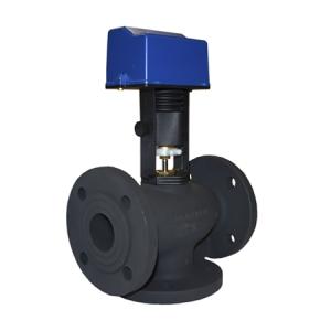 3-х ходовые регулирующие клапаны с электро- и пневмоприводами чугунные АСТА Р13