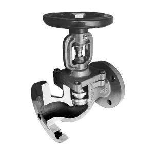 Вентиль запорно-регулирующий с сильфонным уплотнением АСТА серии Р35–РМ