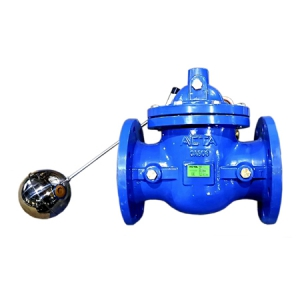 Поплавковый мембранно-плунжерный клапан с пилотным управлением АСТА Р02/06