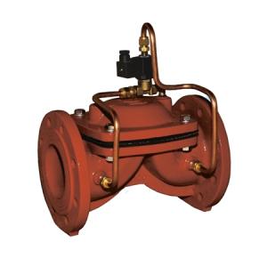 Соленоидный мембранный клапан с пилотным управлением АСТА Р01/04
