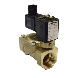 Соленоидные клапаны для пара и перегретой воды АСТА ЭСК 200