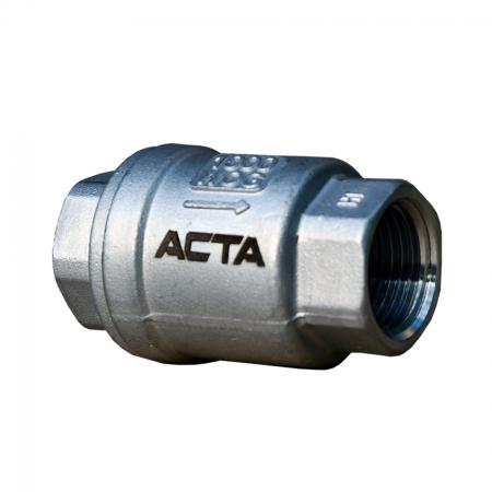 Клапан обратный из нержавеющей стали АСТА ОК351