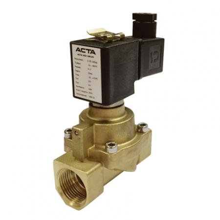Клапаны соленоидные поршневые АСТА серии ЭСК 103-104 для высокого давления, пара, компрессорного оборудования пилотное управление