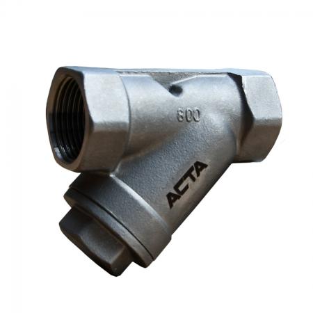 Фильтр сетчатый резьбовой из нержавеющей стали АСТА Ф151